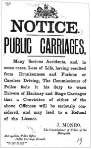 1896 London Public Carriages